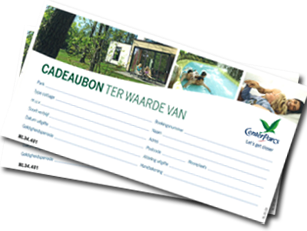 Center Parcs gift voucher